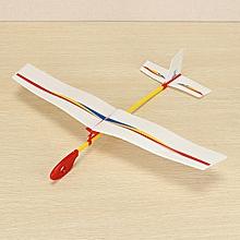 Hand Throwing Assembly Bubble Flight Model DIY Handmade Plane Model-
