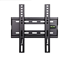 "Fixed Wall Mount Bracket -  22""-43"" - Black"