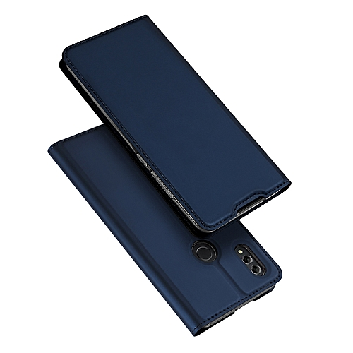 Huawei Honor 8X Leather Case With Stand Function And Card Slot - Blue