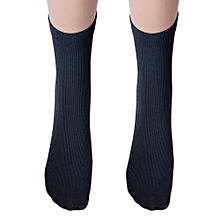Men Cotton Socks Warm Winter Navy