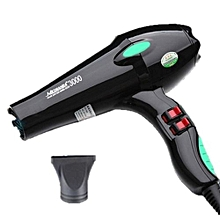 3000  Hairdryer - 1900W - Black&Green.