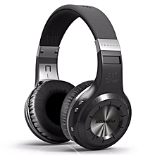 LEBAIQI Bluedio HT Bluetooth Wireless On-Ear Headphone + Mic (Black)