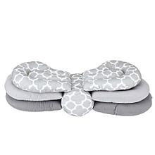 TMISHION 1Pc Baby Toddler Kids Cotton Adjustable Breastfeeding Nursing Pillow Head Protection