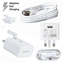 Galaxy S7 Adaptive Charger - White