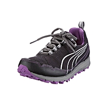Faas 250 Womens Running Shoe - Black & Purple