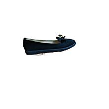 Black Slip On Women's Doll Shoes