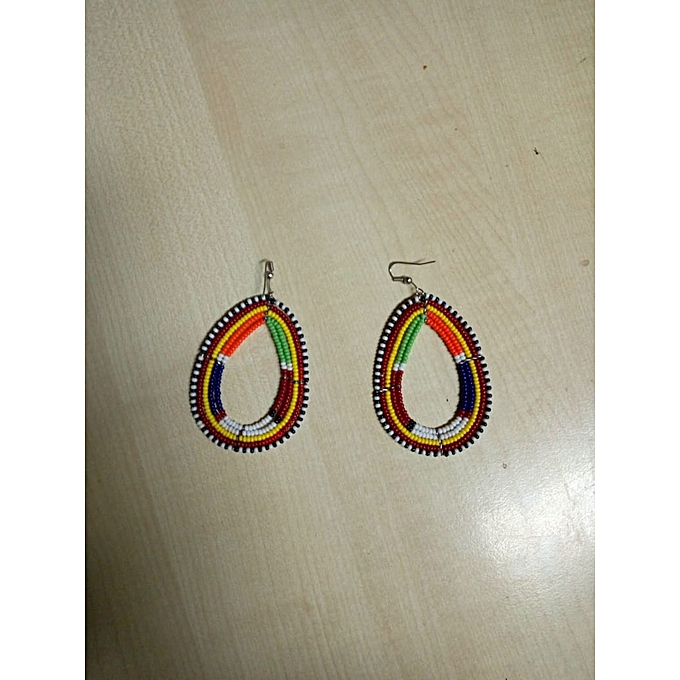 Hand Crafted Maasai Earnings