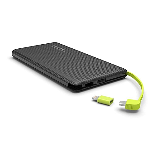 (LIMITED OFFER)PINENG POWER BANK PN-951 10000MAH-BLACK  BGmall