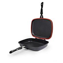MagicGrill Double Pan (Non-Stick) - Black