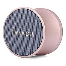 KS - 01 Shock Sound Bluetooth Speaker TF Card Mode Music Stereo-Platinum