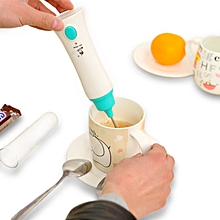 Rechargeable USB Coffee Milk Egg Beater Frother Cream Foamer Hand Mixer Whisk Blender Kitchen
