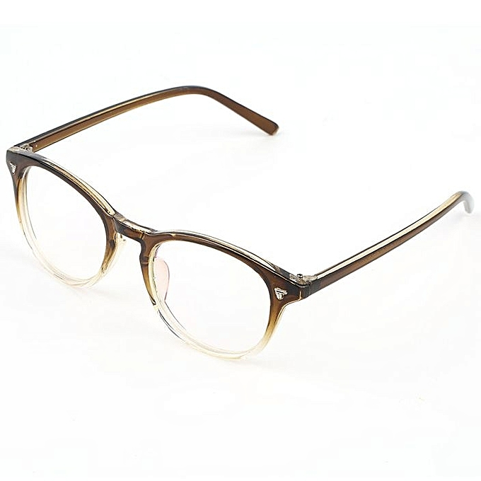 Buy Fashion Fashion Stylish Vintage Men Women Eyeglass Frame Lens ...