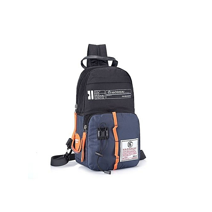 Fashion Mens Chest Bag Nylon Sport Outdoor Shoulder Sport Casual Men Waist Bags  Waterproof Korean Style cf3e01e8825b3