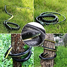 1Pc 130cm Long Realistic Soft Rubber Snake Garden Props Funny Joke Prank Toy Gift Hot