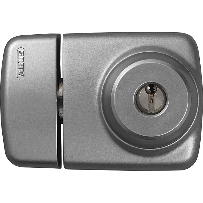 Rim Lock for entrance doors with narrow frames