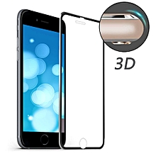 Tempered Glass Protective Film for iPhone 7 Plus - Black
