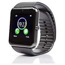GT08 - Bluetooth Smart Watch with Camera - Black