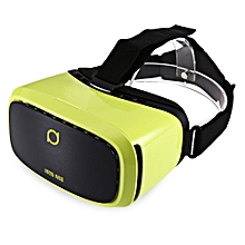 Kankan V2Y 68 Degree Wide Angel 3D VR Headset Movie Game Virtual Reality for 5 - 6 Inch Smartphone-GREEN