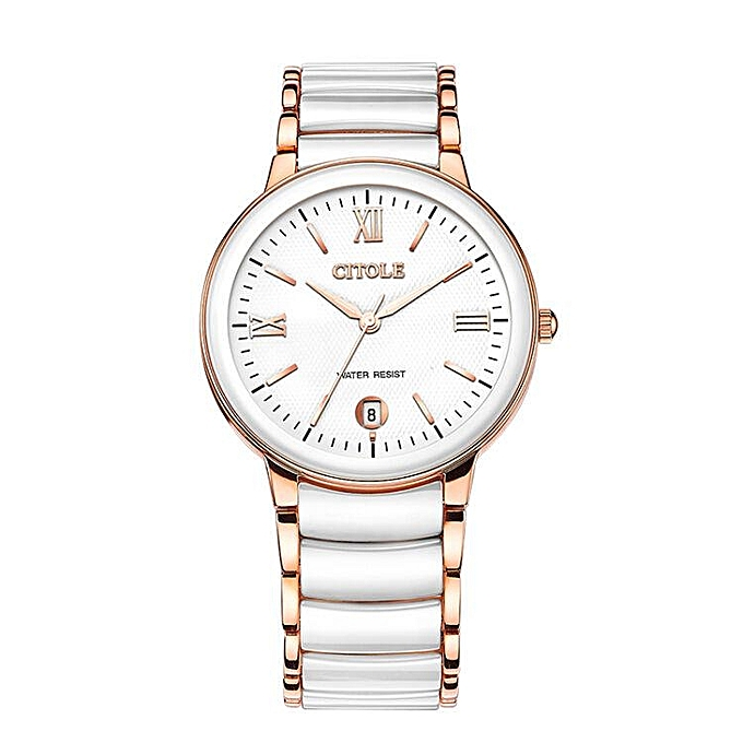 Bontek electronic CITOLE watches the Ms. ceramic quartz watch retro bijou thin men diamond couple