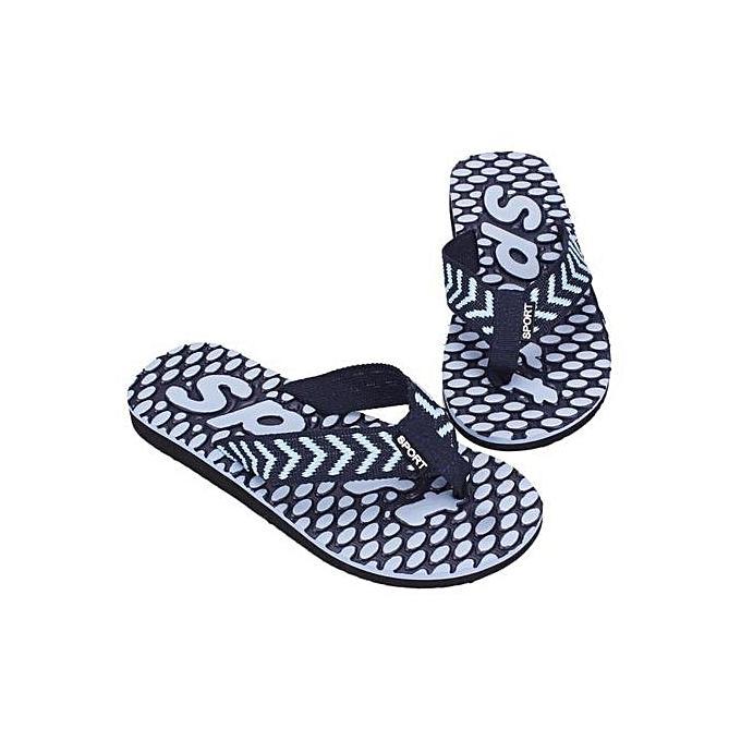 737b44e9c3a3 Jiahsyc Store Men Summer Flip Flops Shoes Sandals Slipper Indoor   Outdoor  Flip-flops BU40