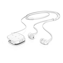 HP H5000 Bluetooth Earphones with Inbuilt Mic  - White