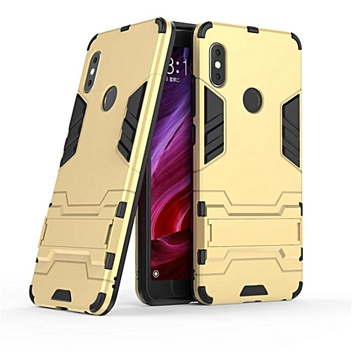 For Xiaomi Redmi Note 5 Case Hybrid Silicone Iron Man Armor Cover For Redmi Note 5 Full Protect Handphone Casing 189017 Gold