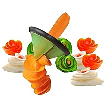 Vegetable Fruit Sharpener Peeler Carrot Cucumber Spiral Slicer Kitchen Cutter