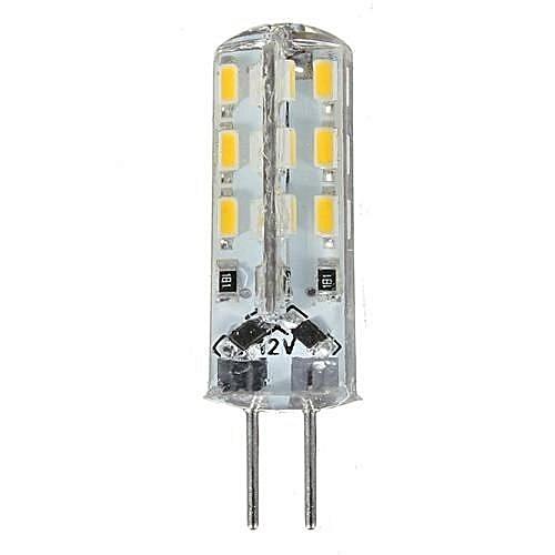 Lampadine Led G4 12v.Universal 6pcs Lampada Lampadina G4 24 Led 3014 Smd Temperatura Luce