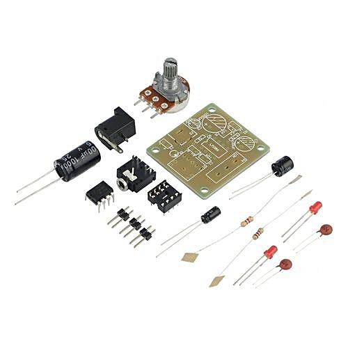 LM386 DIY Mini Amplifier Board Module Compact 3V-12V Audio Blue