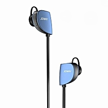 H07 Sport Bluetooth Headphones Wireless Earbuds Headsets Built-in Mic, APTX, Noise Cancelling for Running - Blue