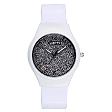 GAIETY G466 Girls White Leather Watch