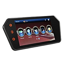 "7"" LCD Car Touch Screen Rear View Backup Mirror Monitor+140° Reverse Camera Kit"
