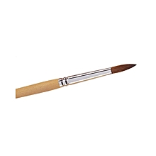 Professional Acrylic Brush For Nails- Brown