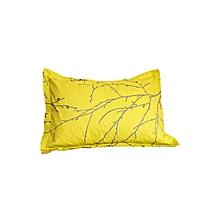 2Pc - Decorative Pillow & Case Set - Green