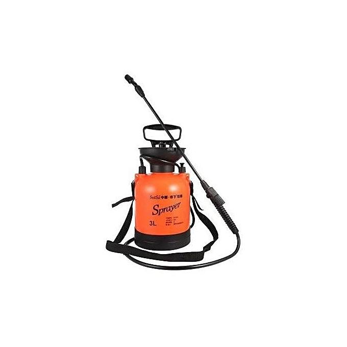 3L Hand Air Pressure Sprayer Orange