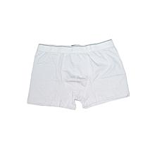 White Strech Boxers