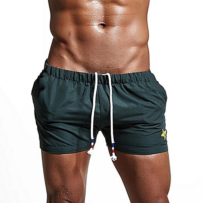 67fa26b6fb Xiuxingzi Mens Breathable Swim Trunks Pants Swimwear Shorts Slim Wear  Bikini Swimsuit