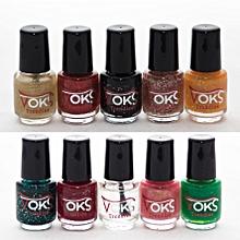 Pack V10 - Glitzy mixed colors