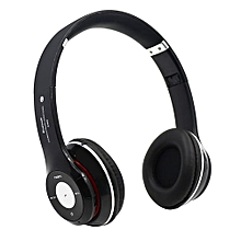 Headphone HandsFree Fashion Bluetooth Headset Bluetooth Sports Wireless Headphones S460 - Black