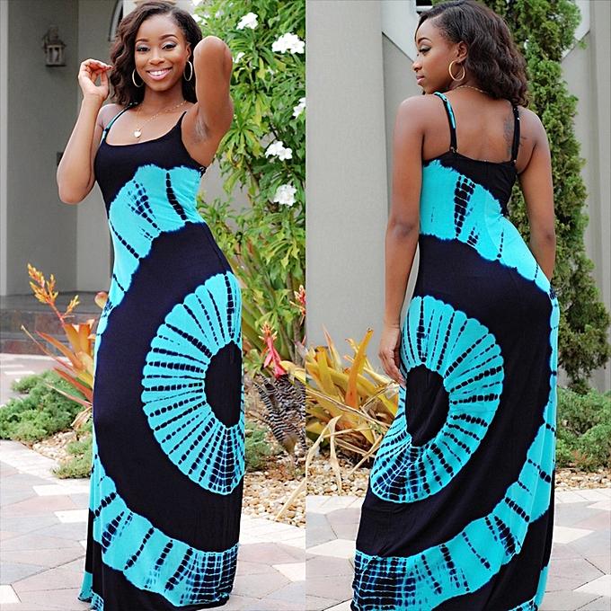 4d13ddf0c004 AFankara Latest Ankara Styles Party Dress Sleeveless Dinner Dress ...