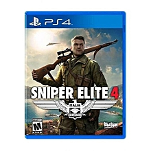 Playstation 4(PS4) Game- Sniper Elite 4