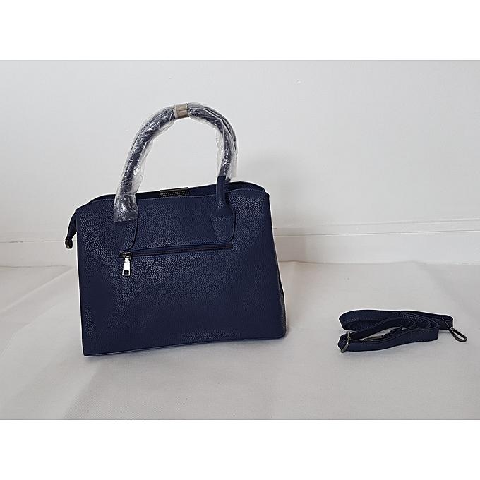 80a7427a1d80 Generic Navy Blue Handbag   Best Price