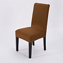 Dining Chair Cover Simple Plain Elasticity