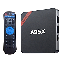 NEXBOX A95X - B7N Smart TV Box Amlogic S905X Quad Core 64 Bit Cortex A53 4K X 2K H.265 2.4GHz WiFi Bluetooth 4.0--2GB+8GB