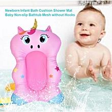 Newborn Infant Bath Cushion Shower Mat Baby Non-slip Bathtub Mesh Without Hooks