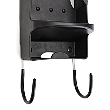 Hotel Home Ironing Board Storage Over The Door Hook Iron Holder Laundry Wall Black
