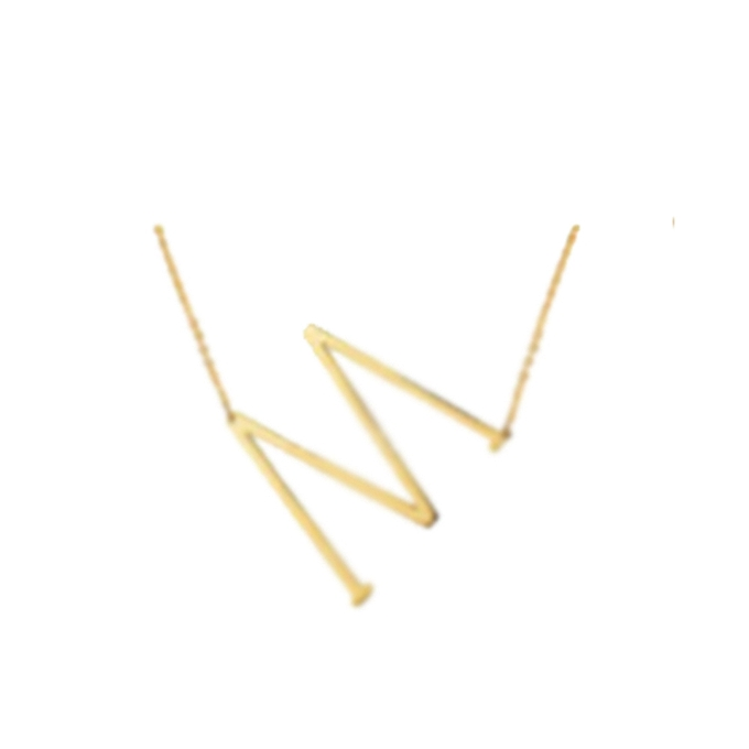 Fashion fashion letter necklaces pendants alfabet initial necklace fashion letter necklaces pendants alfabet initial necklace 24k gold stainless steel choker necklace women jewelry kolye mozeypictures Images