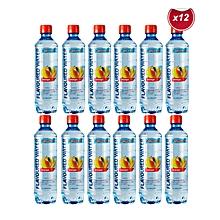 Flavoured Water 500ML - Mango - 12 Bottles