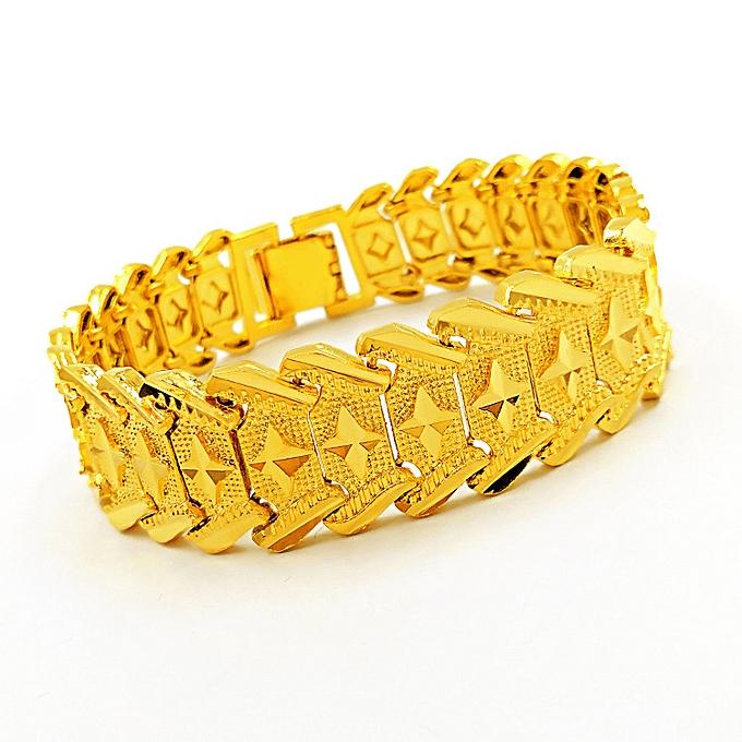 742029b2f2f80 Mens Bracelet Gold Chains Bracelets For Men