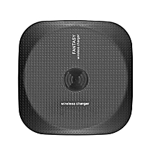 Wireless Charger, Qi Wireless Charging Pad Base for iPhone X/ 8/ 8 plus, Samsung Galaxy S8/ S8 Plus/ S7/ S7 Edge, and all Devices Qi - Black